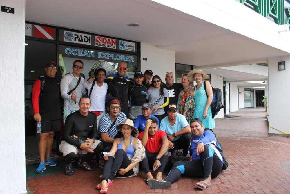 grupo trydente Buceo